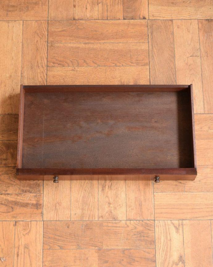 アンティークのワゴン・トローリー アンティーク家具 アンティークワゴン、サイズを変えて便利に使える家具(トロリー)(引き出し付き) 。引き出しの中もキレイに修復しました。(q-2126-f)
