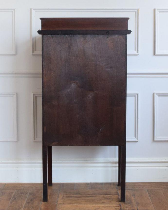 アンティークのチェスト アンティーク家具 ミュージックチェスト 修復してあるので後ろ姿もキレイです。(q-2287-f)