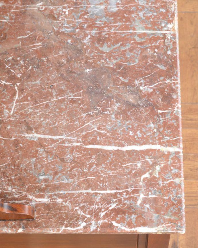アンティークのキャビネット アンティーク家具 ウォッシュスタンド コンディションもバッチリ!天然大理石はコンディションが一番大事なポイント。(q-2307-f)