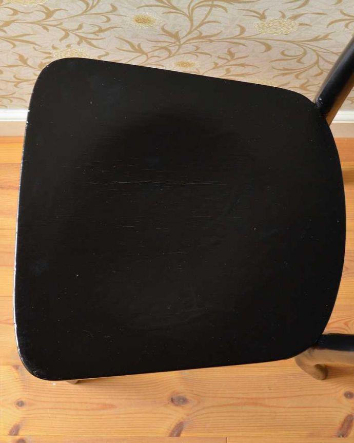 q-264-c  アンティークベントウッドチェアの座面