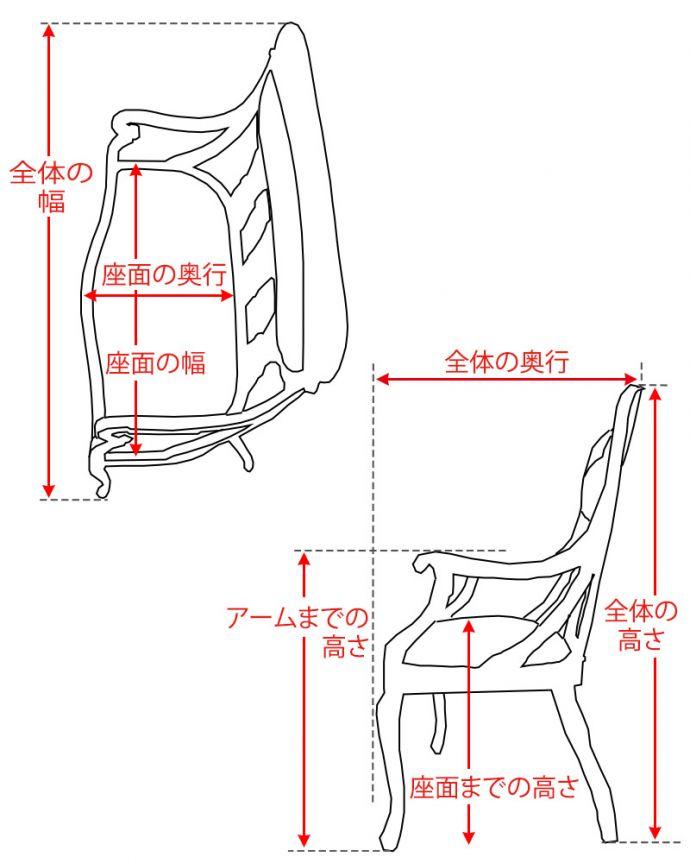 セティ・ソファ・ベンチ アンティーク チェア 英国のアンティークセティ、繊細な彫刻が美しいアーム付き長椅子(ソファ)。。(q-269-c)