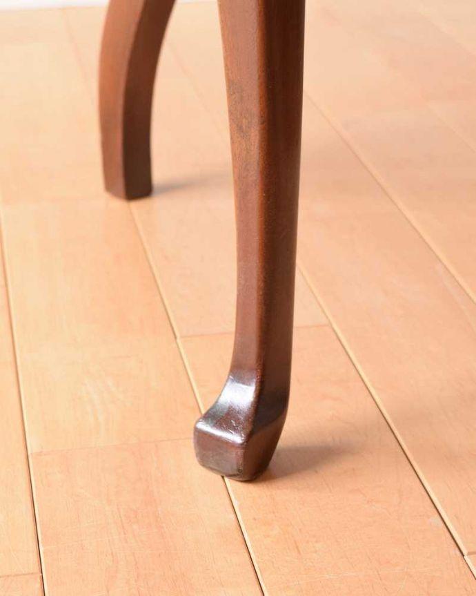 q-306-c アンティークサロンアームチェアの脚