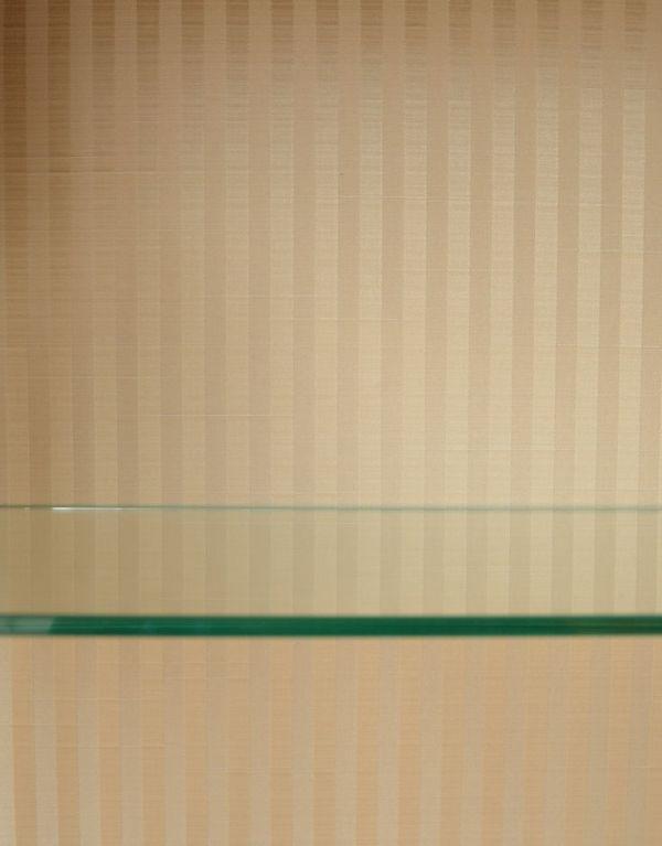 q-364-f-1 アンティークガラスキャビネットの背板