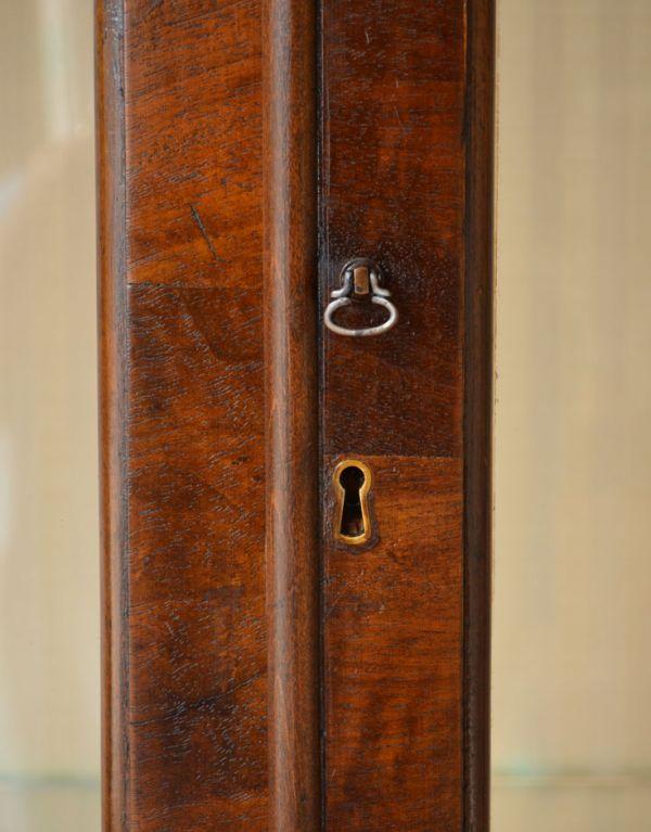 q-364-f-1 アンティークガラスキャビネットの鍵穴