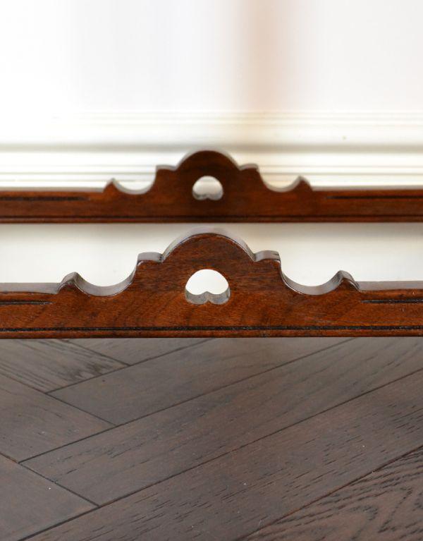 q-416-f アンティークコンソールテーブルの装飾