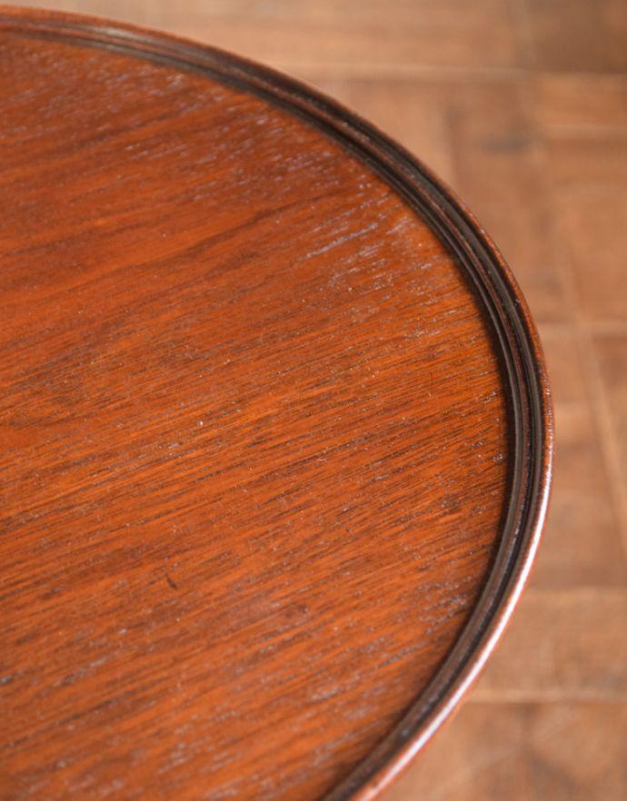 q-598-f アンティークワインテーブルの縁