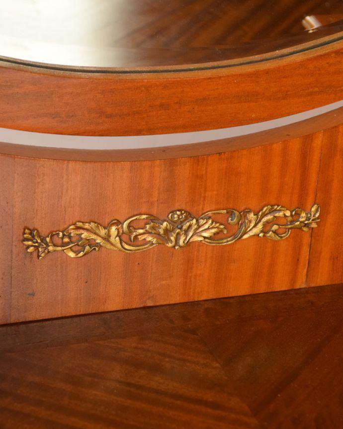 q-735-f アンティークドレッシングテーブルの装飾
