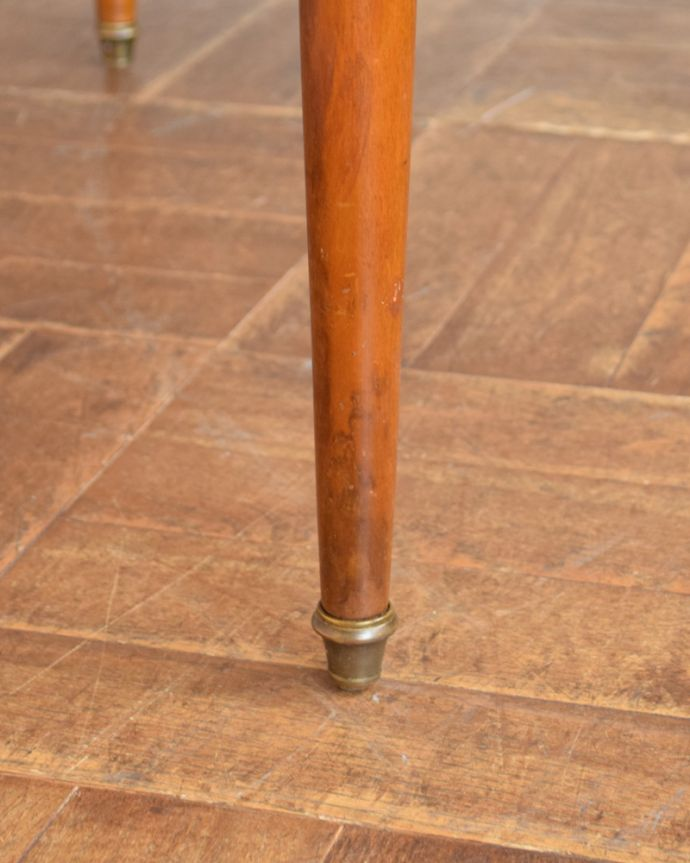 q-735-f アンティークドレッシングテーブルの脚