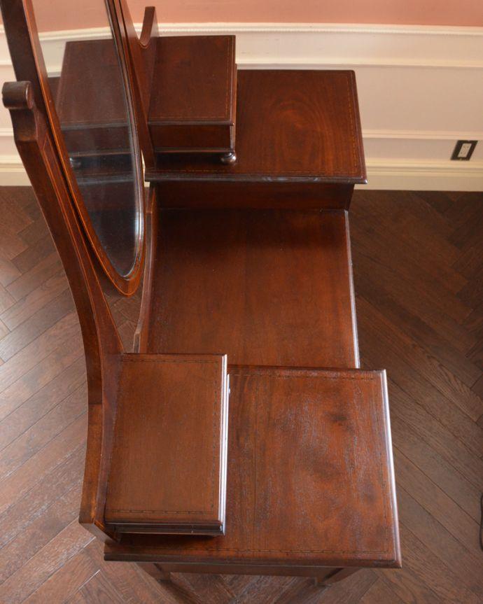 q-779-f アンティークドレッシングテーブルの天板