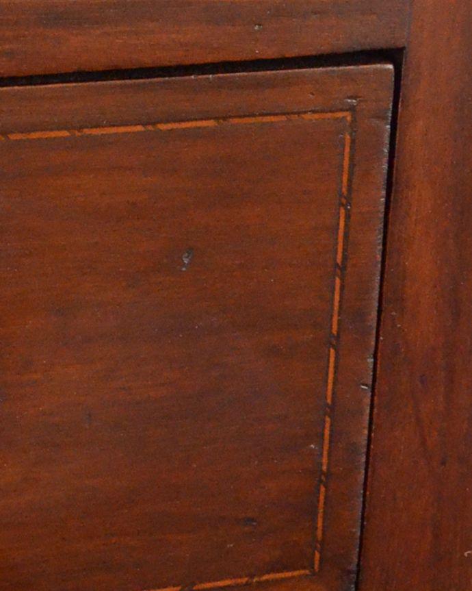 q-779-f アンティークドレッシングテーブルの引き出しの装飾