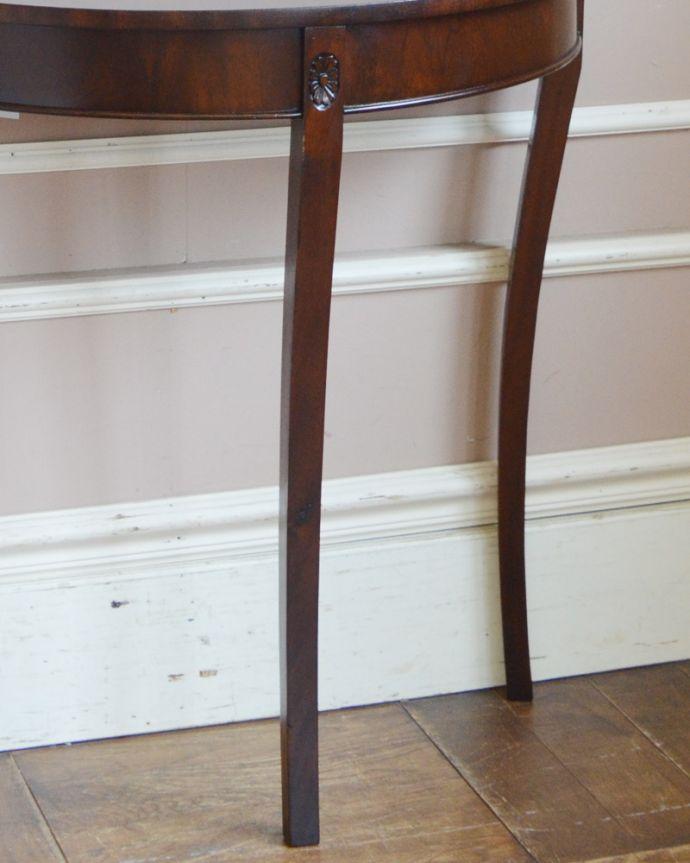 q-783-f アンティークコンソールテーブルの脚
