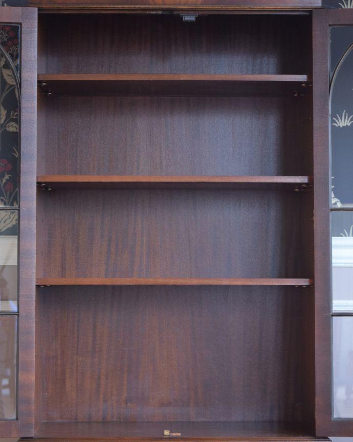 q-822-f アンティークブックケースの棚板
