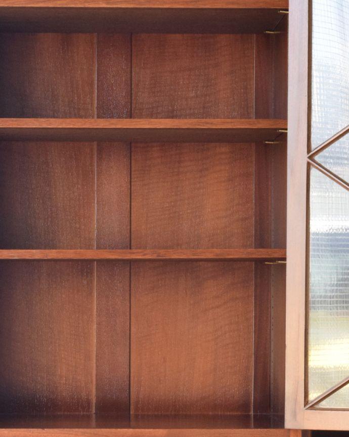 q-855-f アンティークブックケースの棚板
