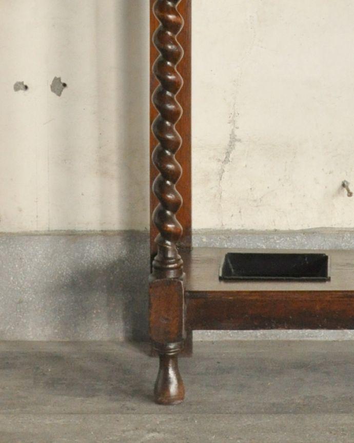 q-868-f アンティークホールスタンドの脚