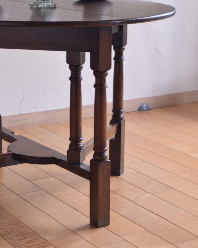q-885-f アンティークゲートレッグコーヒーテーブルの脚