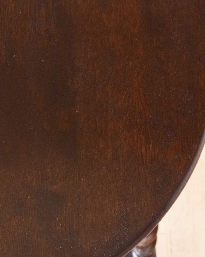 q-904-f アンティークオケージョナルテーブルの縁