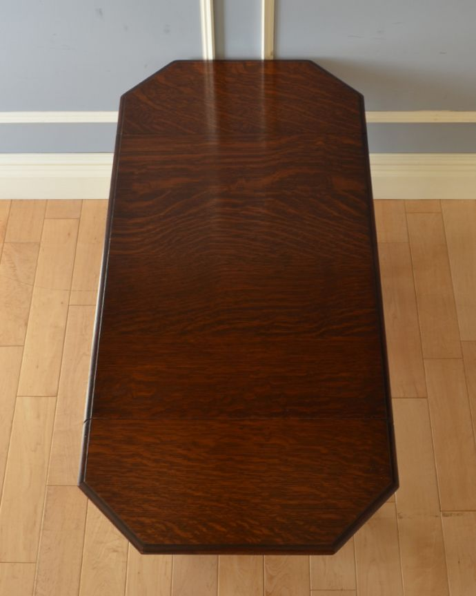 q-905-f アンティークバタフライコーヒーテーブルの天板