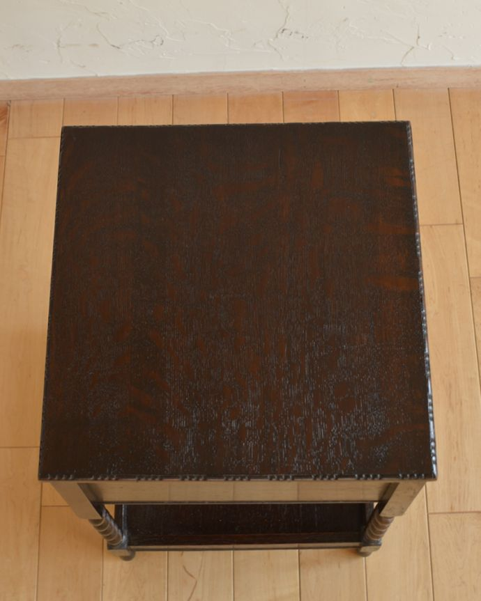 q-926-f アンティークソーイングボックスの天板