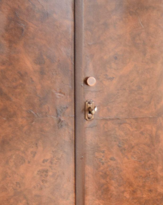 q-937-f アンティークキャビネットの鍵