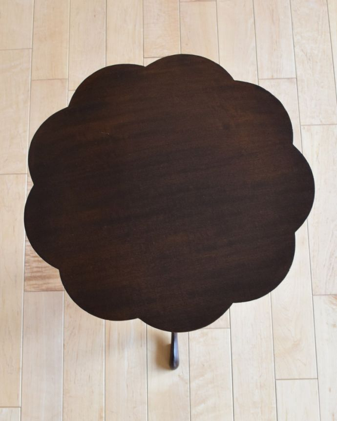 q-959-f アンティークワインテーブルの天板