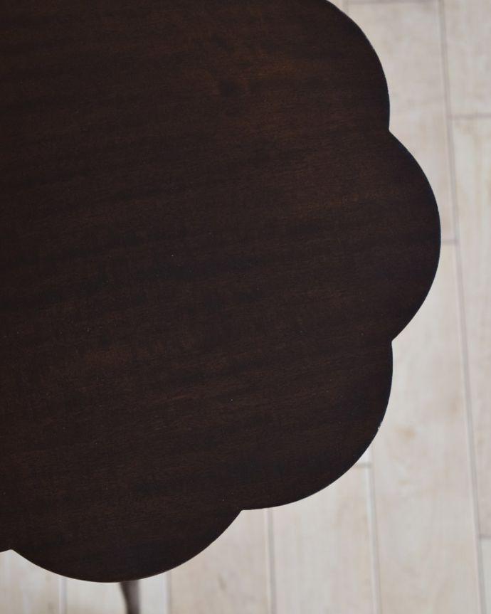 q-959-f アンティークワインテーブルの縁
