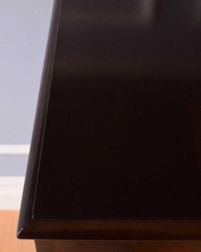 q-970-f アンティークドレッシングテーブルの天板アップ
