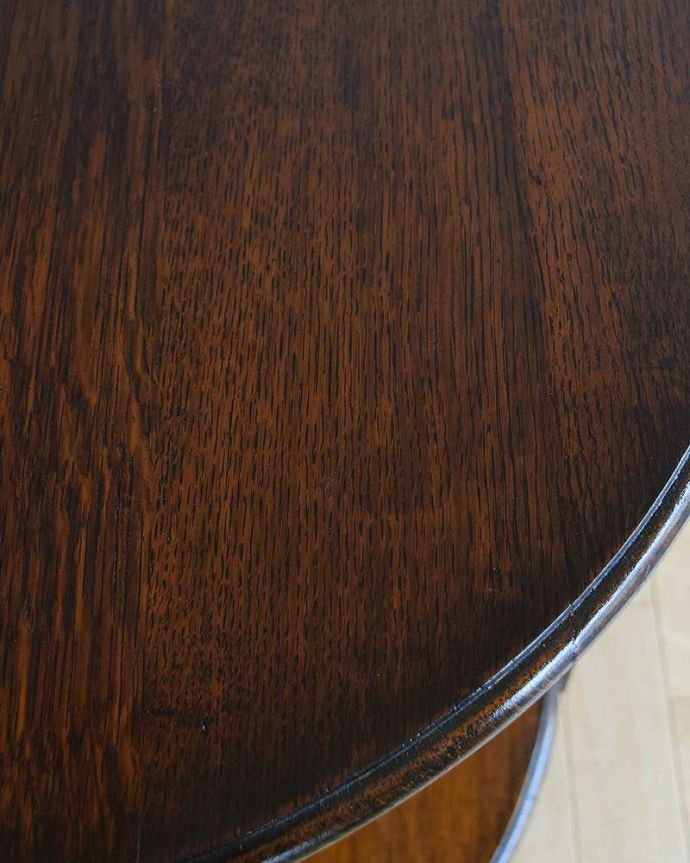 q-987-f アンティークコンソールテーブルの角