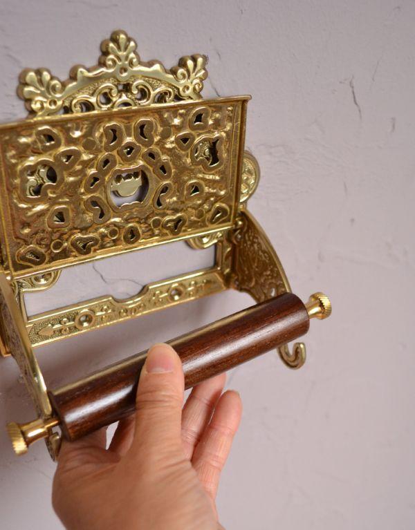 sa-234 トイレットペーパーホルダー(ゴールド)の芯