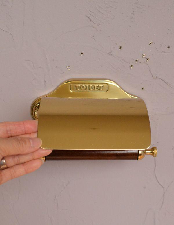 sa-237 トイレットペーパーホルダー(ゴールド)の台座