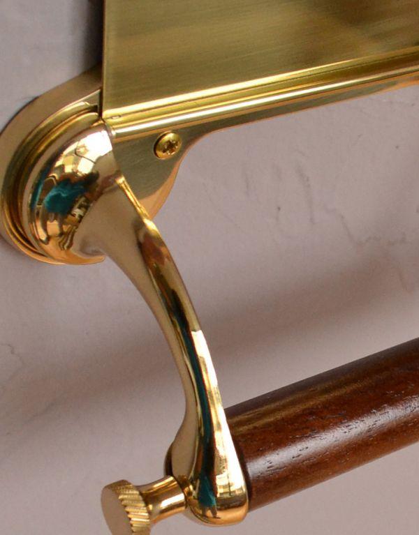 sa-237 トイレットペーパーホルダー(ゴールド)のビス穴