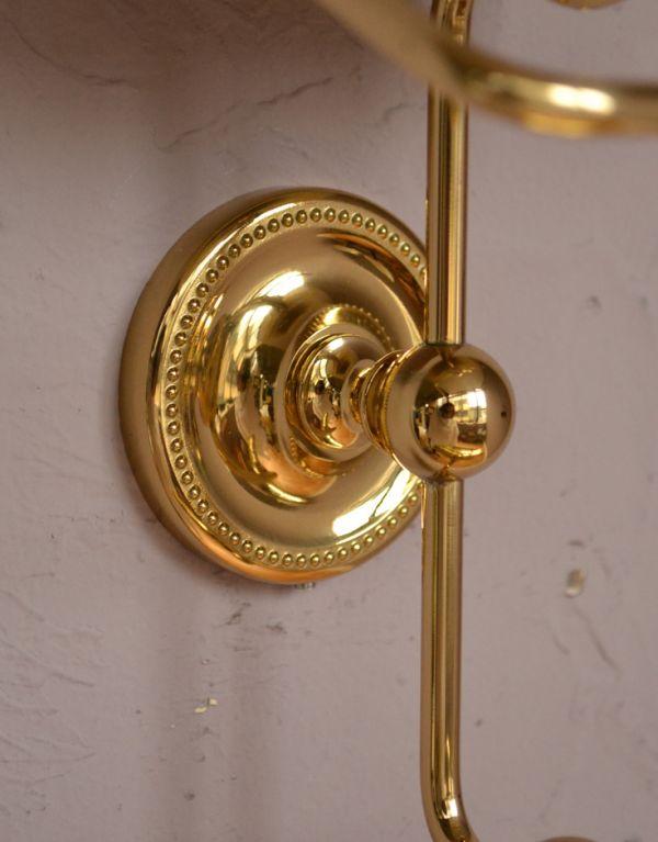 sa-249 真鍮ペーパーホルダー(ツイン・ゴールド色)の土台
