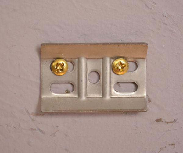 sa-249 真鍮ペーパーホルダー(ツイン・ゴールド色)の金具