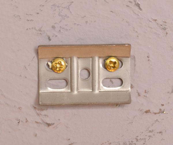 sa-252 真鍮ペーパーホルダー(ダブル・ホワイト色)の金具