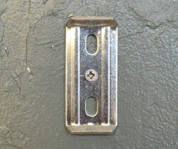 sa-617 真鍮タオルバー(シルバー)のステー