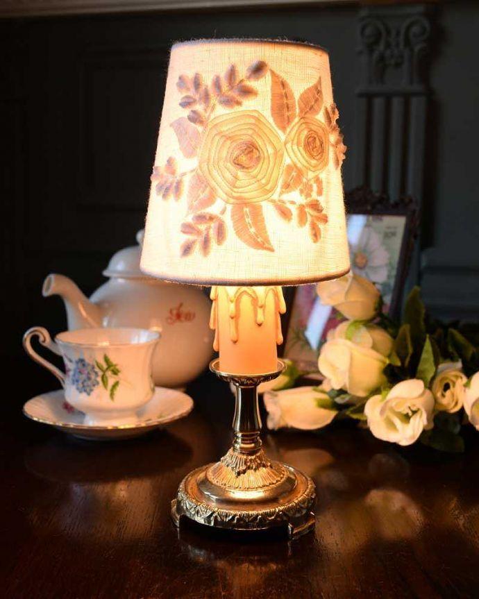 sgl-03-a テーブルランプのシェード点灯
