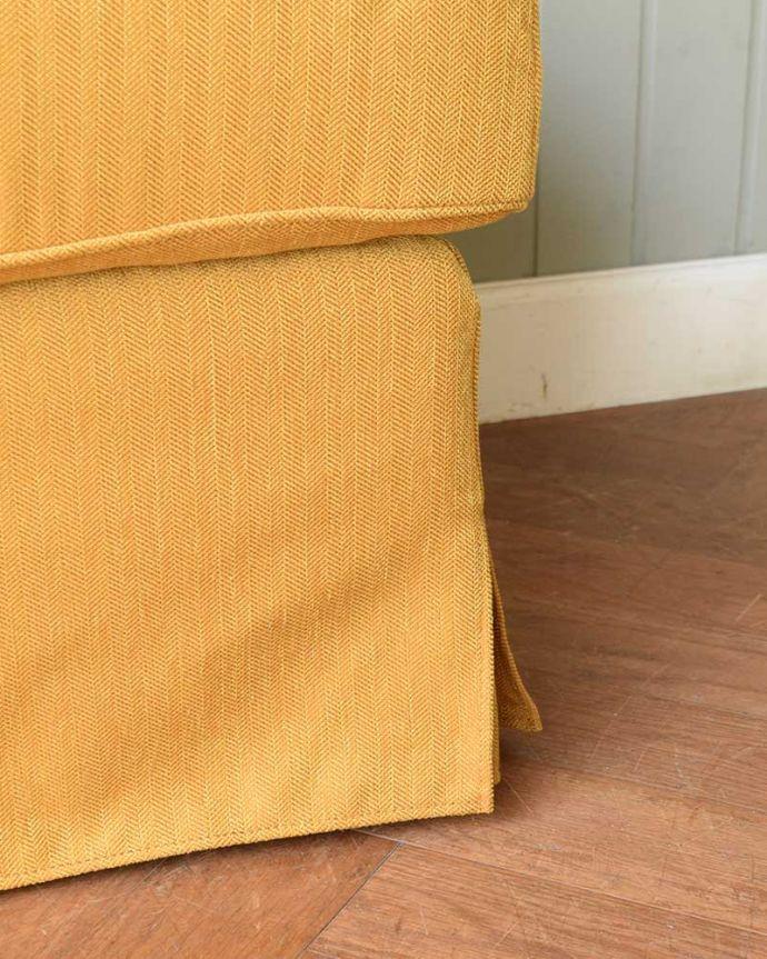 アンティーク風の椅子 アンティーク風 お家の洗濯機で洗えるHandleオリジナルスツール 足元にも気を使って・・・脚先も優雅に。(test-h-3)