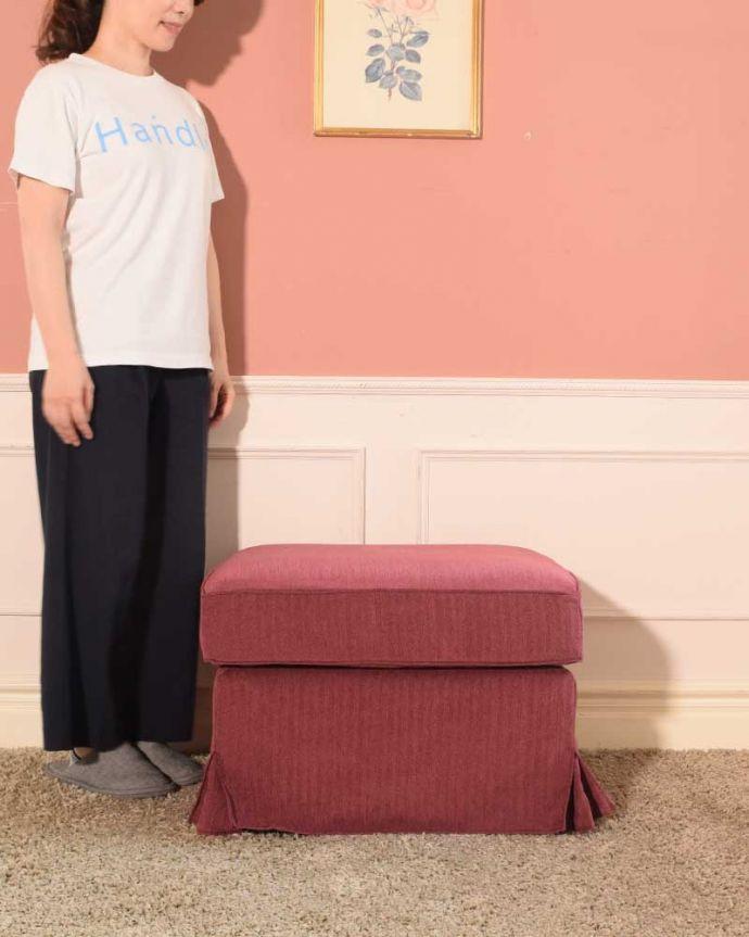 アンティーク風の椅子 アンティーク風 お家の洗濯機で洗えるHandleオリジナルスツール 女性らしいデザインが魅力の「Marie」Handleオリジナルソファ「Marie」と合わせてお揃いで使うこともできる、Handleのスツールです。(test-h-3)