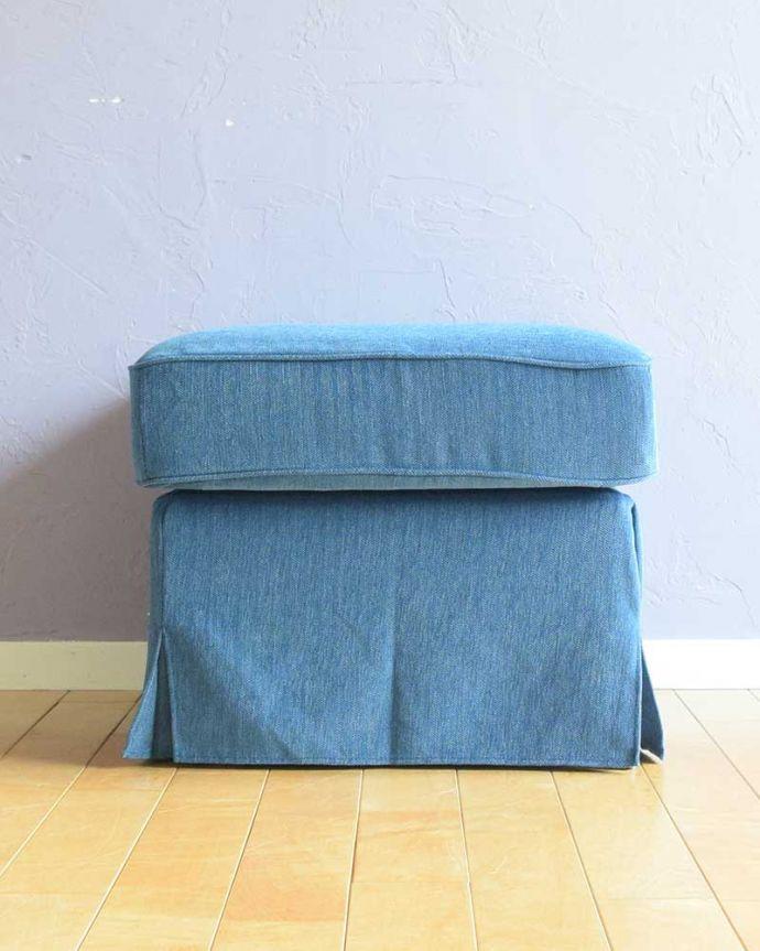 アンティーク風の椅子 アンティーク風 お家の洗濯機で洗えるHandleオリジナルスツール 横から見ると…360度、どの角度から見てもエレガントで優雅な雰囲気にこだわりました。(test-h-3)
