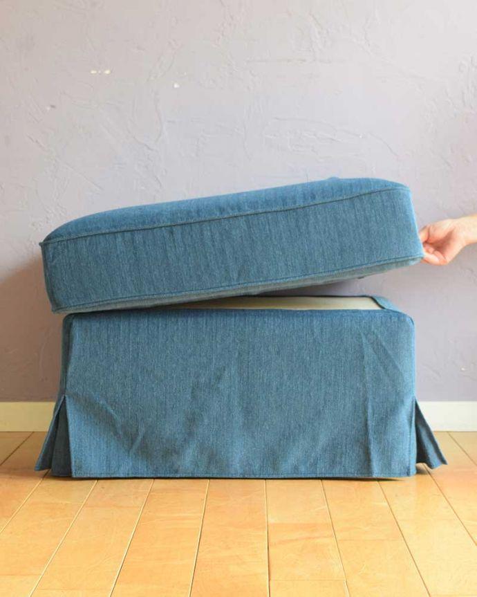 アンティーク風の椅子 アンティーク風 お家の洗濯機で洗えるHandleオリジナルスツール 全てが品質の良い日本製座クッションの交換はもちろん、枠組みのお直しやカバーの追加購入など、何かあった場合は、その部分だけ修理させて頂きます。(test-h-3)