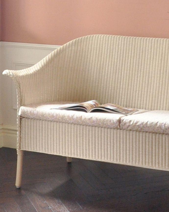 Handleオリジナル アンティーク風 ロイドルームの椅子、8色から選べるHandleオリジナルのロイドルームソファ。丈夫さも魅力です籐の家具のようなしなやかさと美しさを持ちながら、湿気に強く、ささくれやきしみ、反りなどによる変形が少ないロイドルームは、100年経っても実用的に使える丈夫さも魅力です。(hol-07)