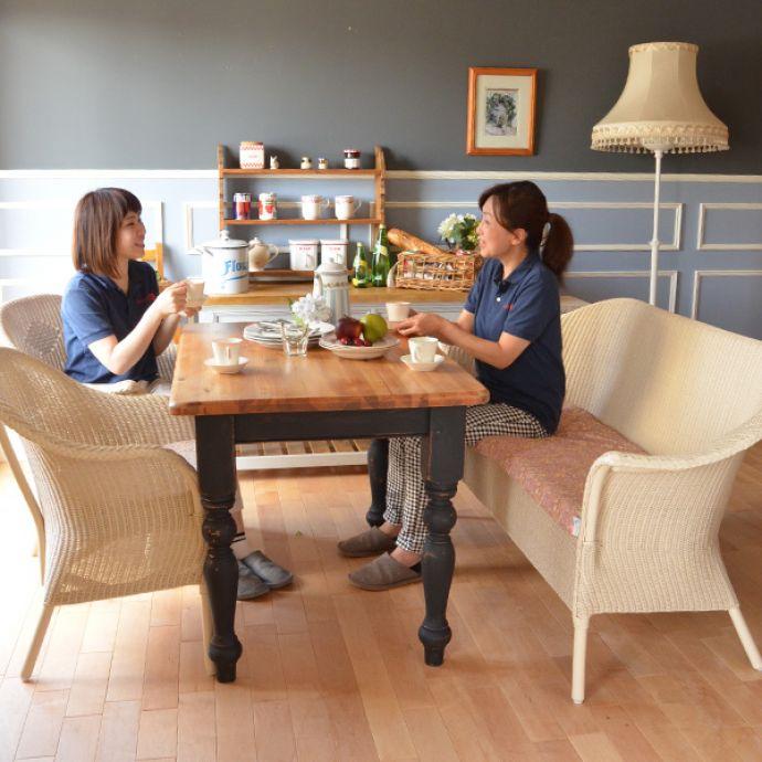 Handleオリジナル アンティーク風 ロイドルームの椅子、8色から選べるHandleオリジナルのロイドルームソファ。ずっと愛され続けるロイドルーム1917年に開発されたロイドルームはワイヤーに紙を巻きつけて作られた画期的なソファ。(hol-07)