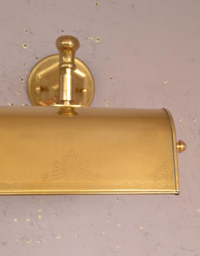 wr-084 真鍮製のウォールランプAの装飾