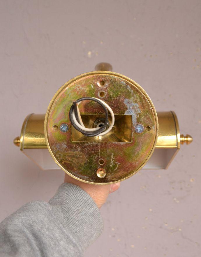 wr-084 真鍮製のウォールランプAの配線