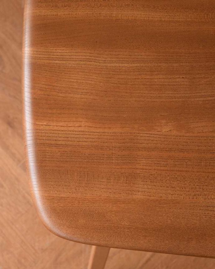 アンティーク家具 アーコールのダイニングテーブルの継ぎ足し用のエンドテーブル(サイドテーブル)。アーコールらしさのヒミツ優しく角がとってあるテーブル。(x-1058-f)