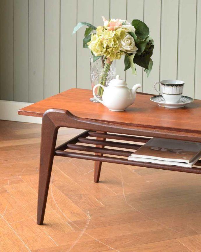 x-1124-f ヴィンテージコーヒーテーブルのズーム
