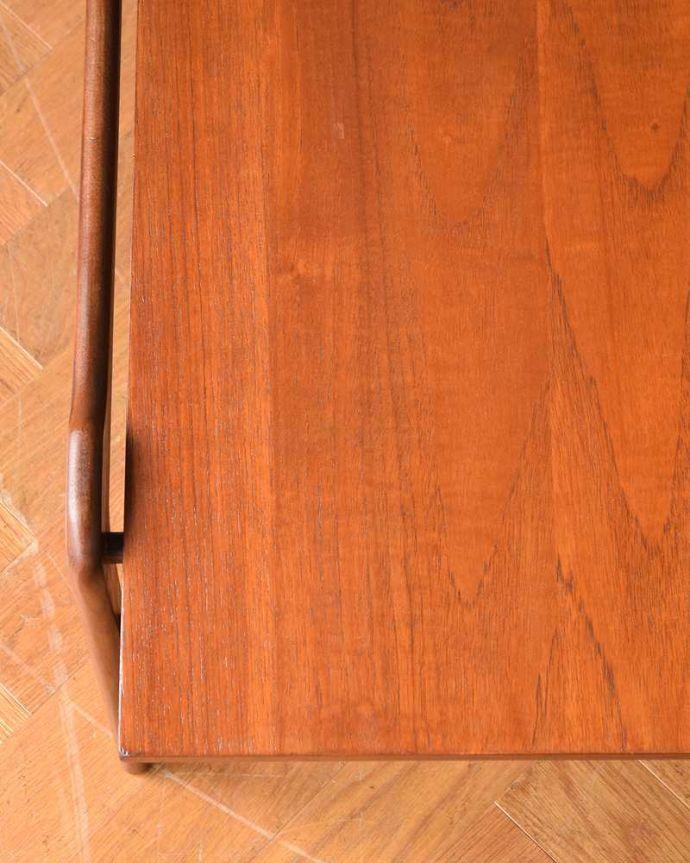 x-1124-f ヴィンテージコーヒーテーブルの天板ズーム