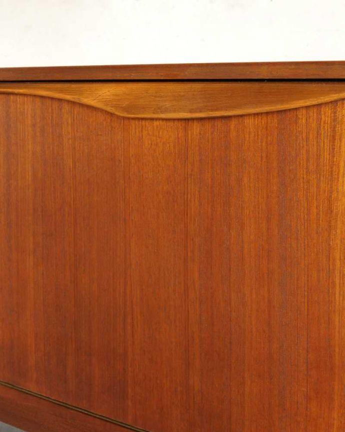 x-1157-f ヴィンテージサイドボードの扉の取っ手