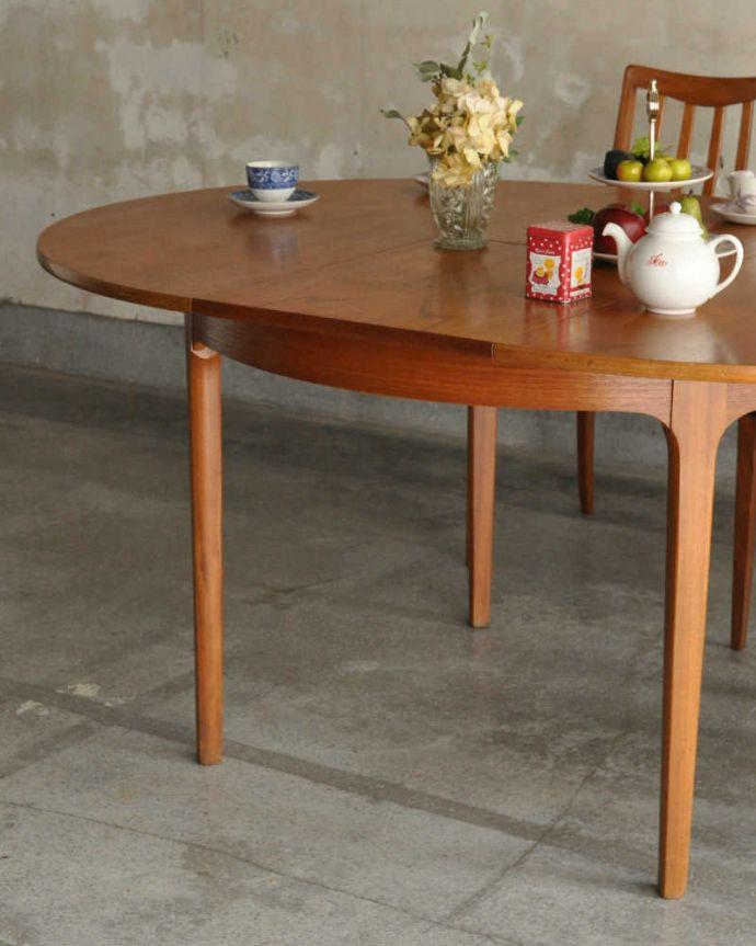 x-1180-f アンティークテーブルのズーム