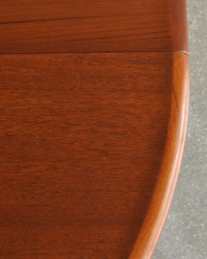x-1183-f ビンテージダイニングテーブルの天板ズーム