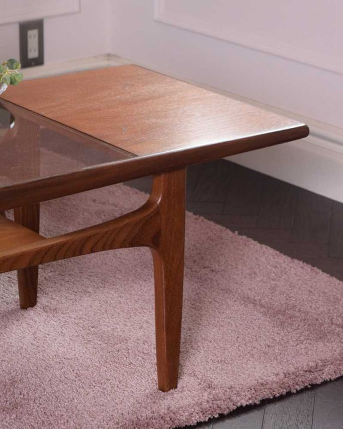 x-1209-f アンティークオケージョナルテーブルのズーム